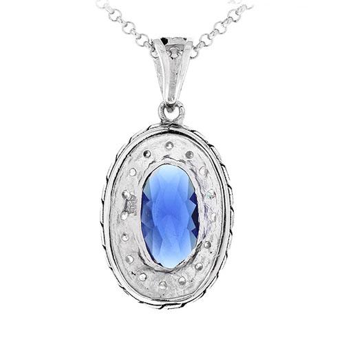 pendentif femme argent zirconium diamant 8300410 pic3