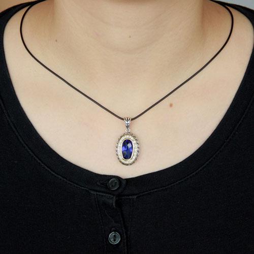 pendentif femme argent zirconium diamant 8300410 pic4