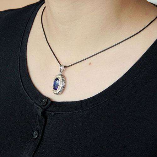 pendentif femme argent zirconium diamant 8300410 pic5