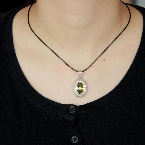pendentif femme argent zirconium diamant 8300411 pic4