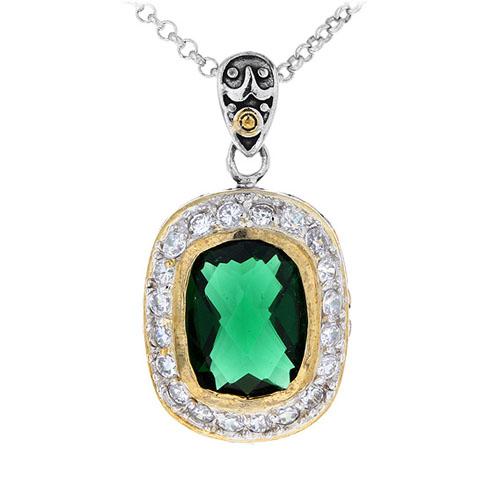 pendentif femme argent zirconium diamant 8300412