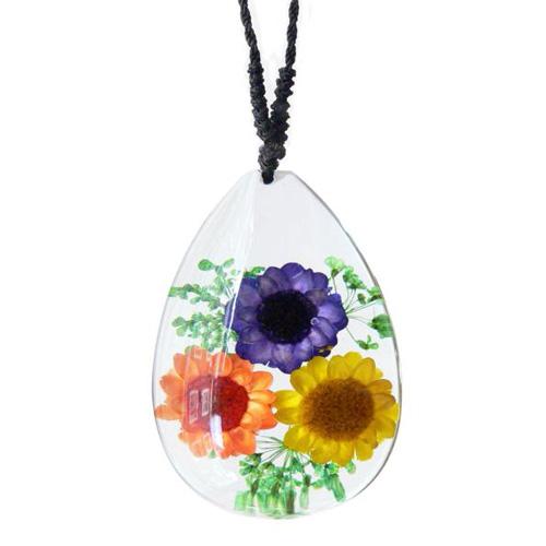 pendentif fleurs FNL4