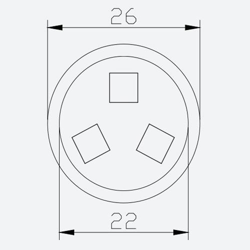 pixel led rgb 12v 072w LEDPIX622 pic3
