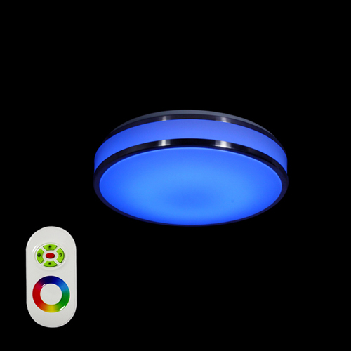 plafonnier led multicolore