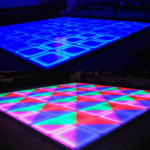 plancher lumineux led piste de danse HTE010
