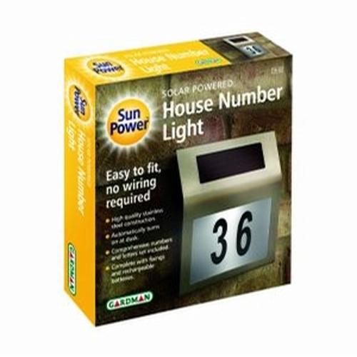 plaque numero maison solaire SOLNUM3 pic3