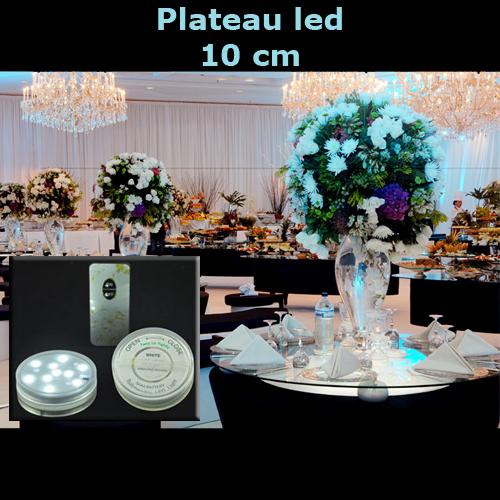 plateau led RGB 7cm LEDTR39C1