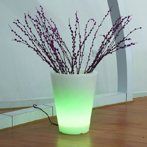 pot fleur lumineux 303131