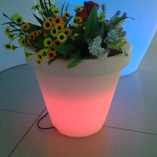 pot fleurs lumineux HSFP35