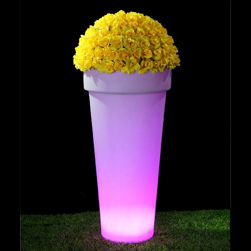 pot fleurs lumineux HSFP47