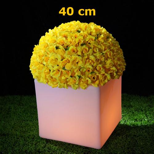 pot fleurs lumineux led HSFP40C pic2