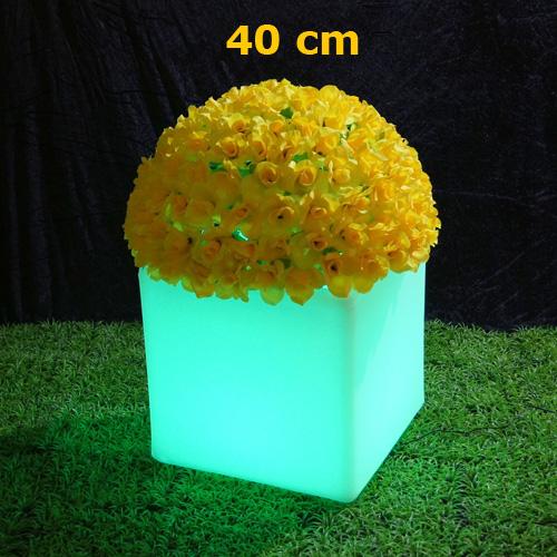 pot fleurs lumineux led HSFP40C