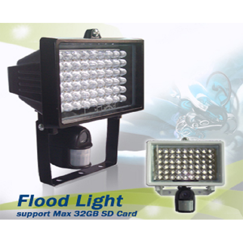 projecteur led camera securite