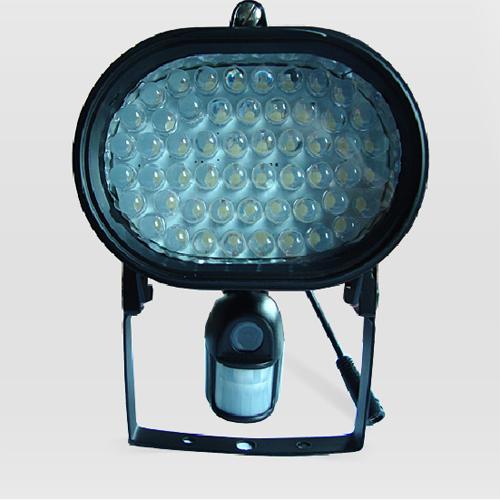 projecteur led noir camera securite