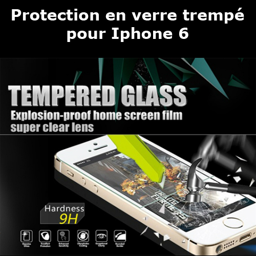 protection verre trempe iphone6