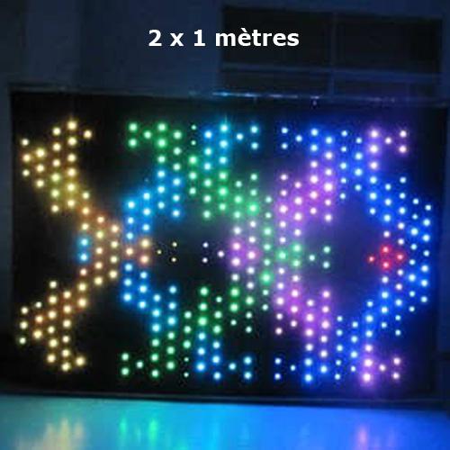 rideau led video LVC102P9