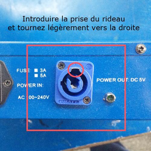 rideau led video LVC306P9 pic4