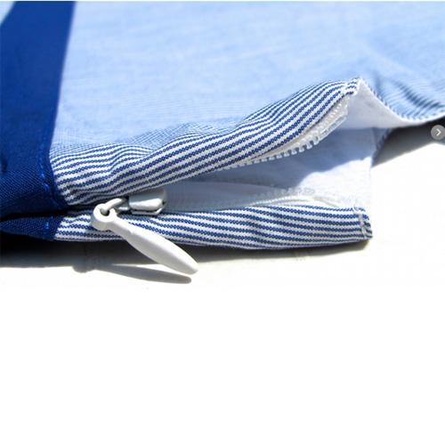 robe bleue manches courtes filles TT4068 pic2