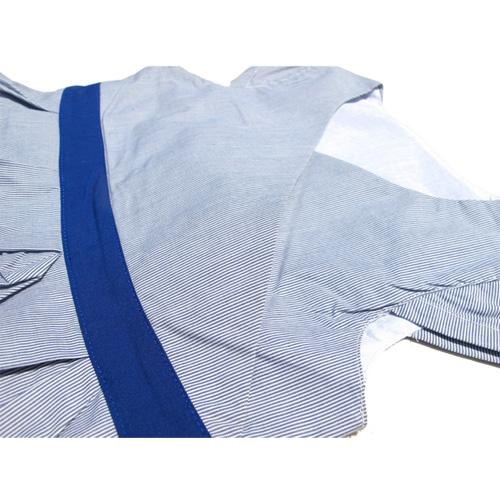 robe bleue manches courtes filles TT4068 pic4