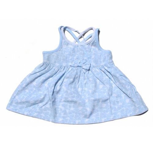 robe bretelles croisees filles TT0150 pic3