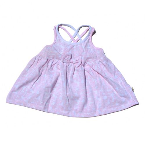 robe bretelles croisees filles TT0150