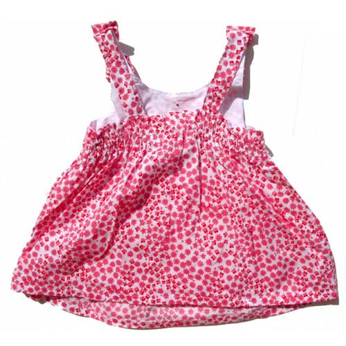 robe petites fleurs filles TT0137 pic3