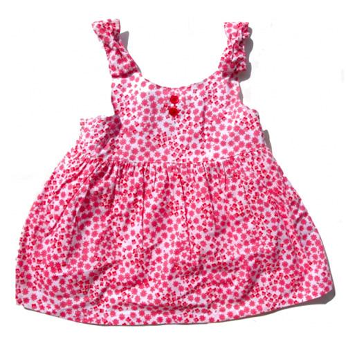 robe petites fleurs filles TT0137