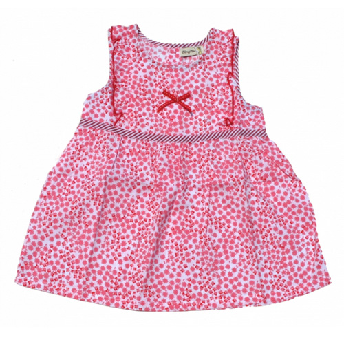 robe pois rouges TT0127