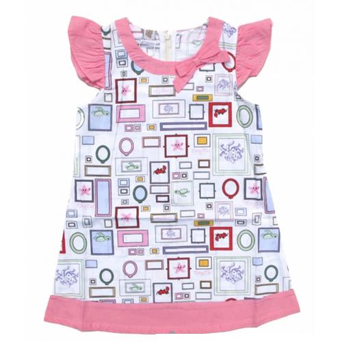 robe sans manche motifs filles TT4011
