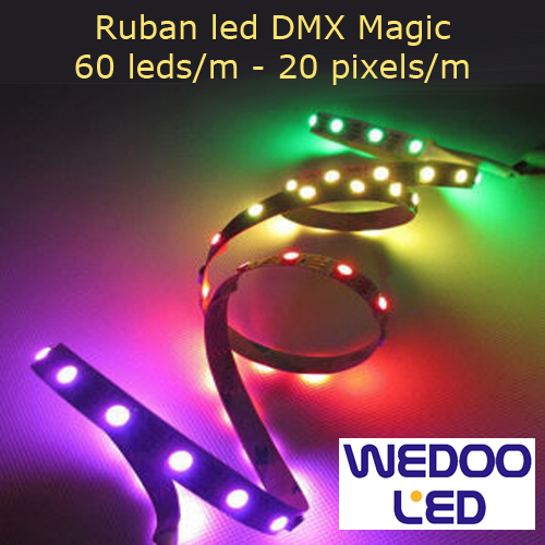 ruban led DMX magic BTFMD6020IP68