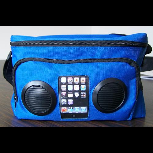 sac avec haut parleurs SACHP90