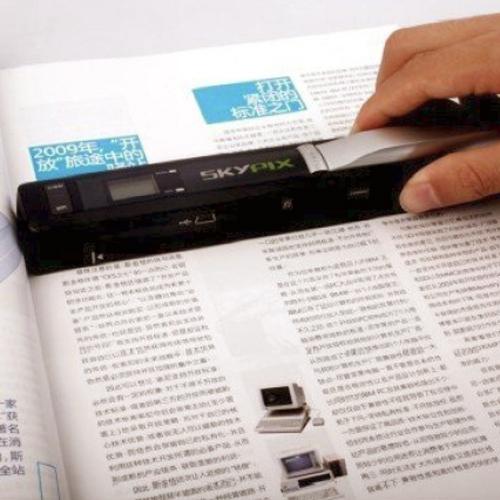 scanner a main