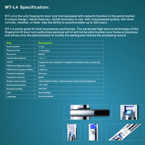 serrure biometrique intelligente tcpip pic12