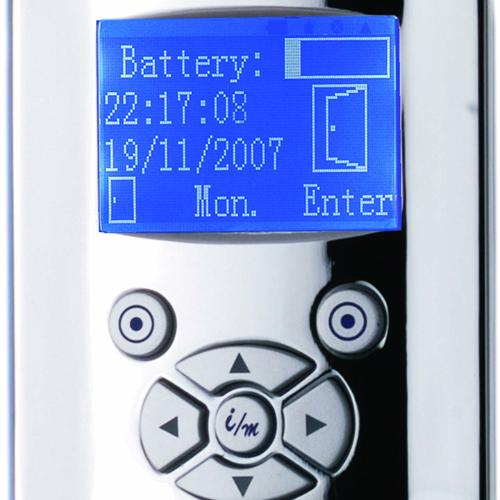 serrure biometrique intelligente tcpip pic9