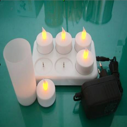 set 6 bougies led rechargeables pic2