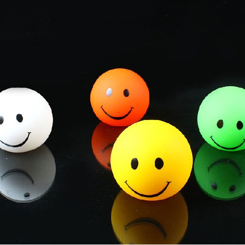 smileys led multicolores