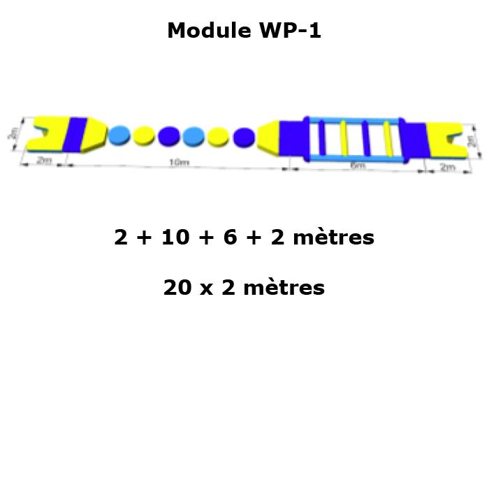 structure gonflable aquatique a composer STRGNFJ565 pic2