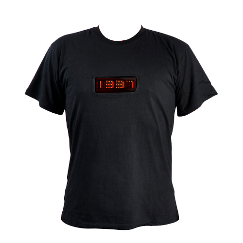 t shirt led messages programmables pic2