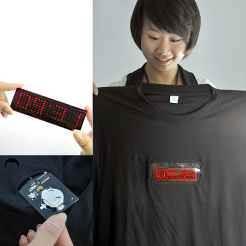 t shirt led messages programmables pic3