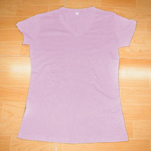 t shirt rose pour femmes logo led anime pic3