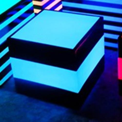 table basse lumineuse led HSCTA2