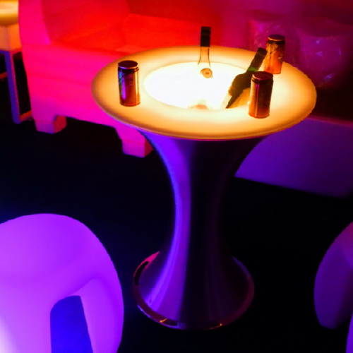 table lumineuse led HSBCTBA