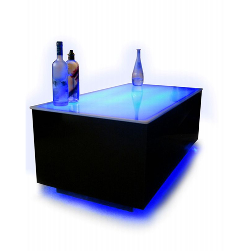 table basse leds 16 couleurs avec t l commande peinture. Black Bedroom Furniture Sets. Home Design Ideas