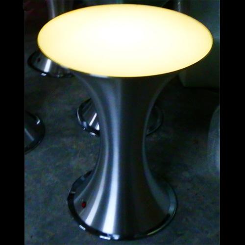 table lumineuse led acier aluminium HSSLBF1