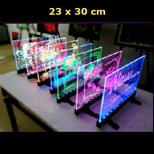 tableau de table lumineux 23x30