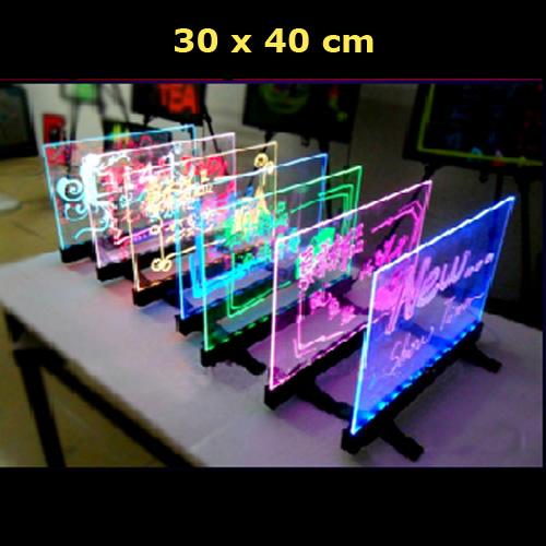 tableau de table lumineux 30x40