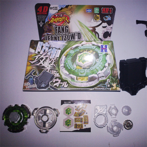 toupie beyblade 4D BB106 pic2