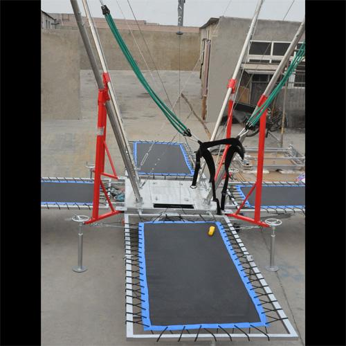 trampoline elastiques 4 personnes TRAMP1