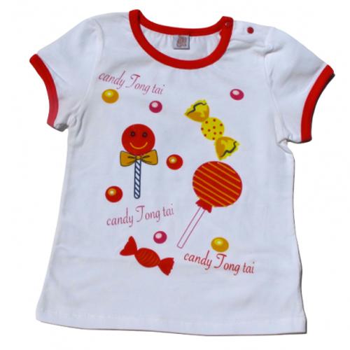 tshirt bonbons fille TT4143