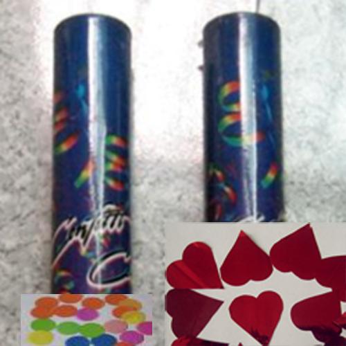 tube confettis en coeur